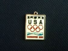 Vancouver B.C. Canada 2010 Winter Olympic Games Rings Team USA Zipper Pull Charm