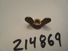 NEW MCCULLOCH TRIMMER WING NUT      PART NUMBER 214869    FITS:  MAC 95, MAC 80