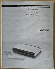 BOSE 28/35 DVD Home Entertainment Systems, Operating Guide
