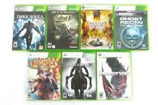 Lot 7 XBOX 360 Games Ghost Recon, Darksiders 2, Bioshock, Saints Row 2, etc.