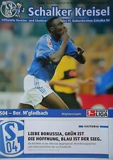 Programm 2002/03 FC Schalke 04 - Mönchengladbach