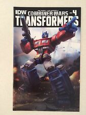 The Transformers #41 retailer incentive cover Ri Nm 9.4 Optimus Prime