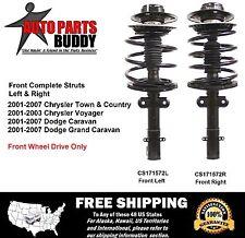 2 Chrysler Mini Van New Front Complete Struts Lifetime Warranty Free Shipping