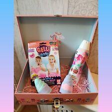 *Unicorn Horn Foamburst Gelli Baff Carry Case Lush Bath Bomb Large Gift Set*