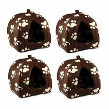 Soft Fleece Pet Hut Set of 4