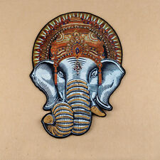Elephant Embroidered Sew On Patch Badge Jeans Fabric Applique Clothes Craft DIY