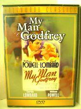 MY MAN GODFREY - Carol Lombard, William Powell *Brand New DVD*