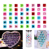 1Sheet Decal Scrapbooking Self Adhesive Rhinestone Bling DIY Stickers Crys BRC3