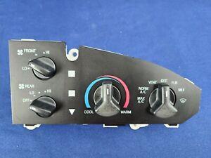 🚐 05-2014 FORD VAN E150 E250 E350 Heater A/C TEMPERATURE  Climate Control  rear