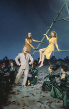 Deanna Durbin Rita Hayworth rare pose photographers 35mm slide