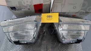 Genuine Mercedes-Benz C126 SEC fog lamps A1268200656 A1268200556 Left + Right