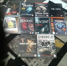 10 horror dvd collection includes dracula seven cube the fly descent etc