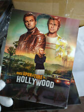 ONCE UPON A TIME IN HOLLYWOOD - Lenticular 3D Flip Magnet Steelbook Cover