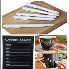 IK- New 3PC White Liquid Erasable Chalk Pen Marker for Chalkboard Blackboard Dre