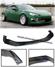 For 13-Up Scion FR-S Subaru BRZ Bunny V1 Style Carbon Fiber Front Lip Splitter