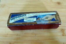 Vintage 1950's boxed Linocraft pen-tools set and instructions by Perry & Co Ltd