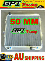 50MM GPI aluminum radiator For Toyota Surf Hilux 2.4/2.0 LN130  AT/MT