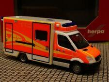 1/87 Herpa MB Sprinter Fahrtec RTW Feuerwehr Ingolstadt 094214