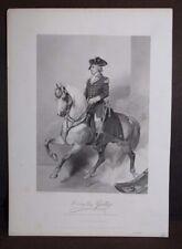 Antique 1857 Print Horatio Gates Alonzo Chappel