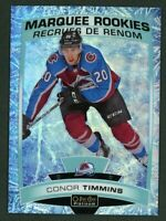 2019-20 O-Pee-Chee Platinum CONOR TIMMINS Marquee Rookies Arctic Freeze #68/99
