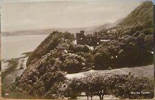 Irish RPPC Postcard GARRON TOWER Larne ANTRIM Coast Northern Ireland Real Photo