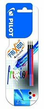 *new* Pilot FriXion Ball 4 colors 0.5mm tip refill pack