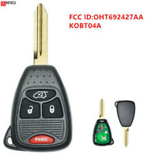 Keyless Entry Remote Control Key 4 Button Fob for CHRYSLER Doge Jeep OHT692427AA