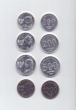 Indonesien / Indonesia - 100+200+500+1000 Rupiah 2016 UNC - Satz von 4 Münzen
