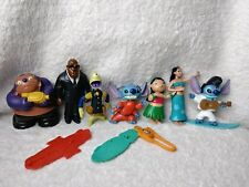 McDonalds Happy Meal Toy Lilo & Stitch Bobble Toys Disney Lot Kids Toys 10 Piece