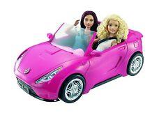 Barbie Glam Convertible Pink Car Doll 2 mattel hot Seats Shine Vehicle Girls