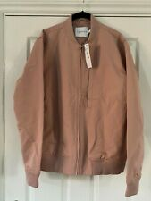 TOPMAN Mens Dusky Pink Bomber Jacket (M) New With Tags