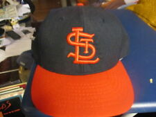 NWOT 90's 1945-55 ST LOUIS CARDINALS 7 1/4 Wool Hat ROMAN PRO Leather Sweat Band