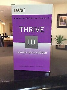 Thrive Le-Vel 30 Packets Of Women's Lifestyle Caps-New in box