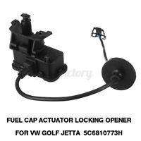 Fuel Cap Locking Opener Actuator Solenoid Motor 5C6810773H for VW Golf Skoda 11-