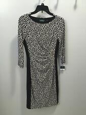 NWT Black and White Ralph Lauren dress women's size 2