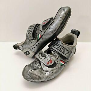 Sidi T2 Carbon Snake Women's Triathlon Cycling Shoe 40 W EU w/ SuperFeet Insoles