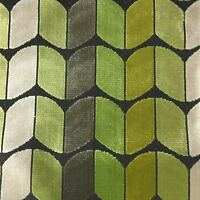 Holland - Arrow Cut Velvet Fabric Upholstery Fabric by the Yard