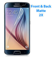 2X Front Back Anti-Glare Matte Screen Protector Cover Film for Samsung Galaxy S6