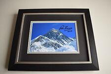 Sir Ranulph Fiennes SIGNED 10X8 FRAMED Photo Autograph Display AFTAL COA