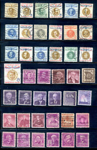 CHAMPIONS 42 Medium Sized Stamps Lot us Used