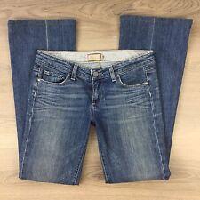 Paige Laurel Canyon Low Rise Boot Cut Women's Jeans Size 29 Actual W32 (UU9)