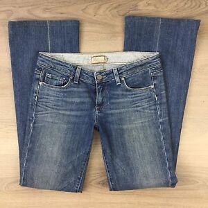 Paige Laurel Canyon Low Rise Boot Cut Women's Jeans Size 29 (UU9)