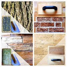 Set of Polyurethane Vertical Stamps (4 pieces)   Stone Cement Imprint Texture