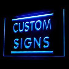 Custom Made Your Text Photo DIY Home Decor Bar Pub Personalise LED Light Sign