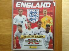 Panini Euro 2016 England Version Complete Set all 126 cards plus binder
