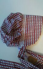 Baby Bonnet~New~stars and stripes😃*Size 6-12 months **Handmade