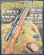 Magazine GUNS & AMMO September, 1963 RIFLE Roundup For 1963: WINCHESTER, MARLIN