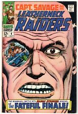 Captain Savage and His Leatherneck Raiders #4, Very Good Condition