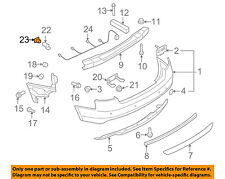 AUDI OEM 12-17 A6 Quattro Rear Bumper-Park Sensor Seal 1T0919133C9B9