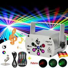 150 Muster Lichteffekt RGB LED Laser Projektor Disco Party Bühnenbeleuchtung